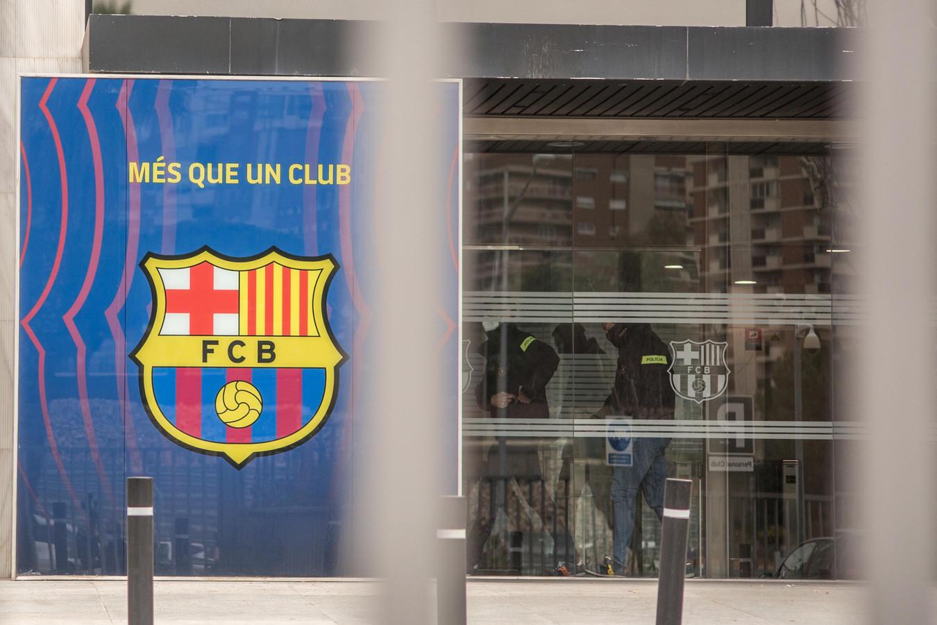De inval gisteren bij FC Barcelona.