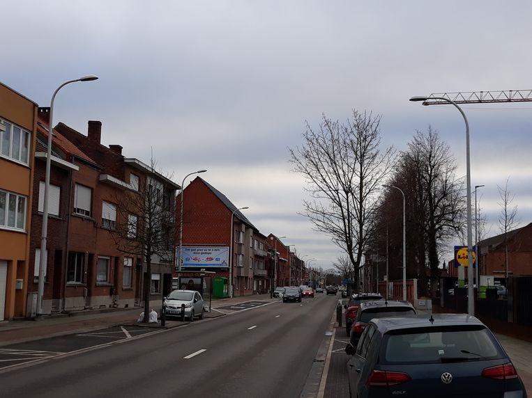 De stad Mechelen vraagt een veilige oversteekplaats op de Leuvensesteenweg ter hoogte van LIDL.