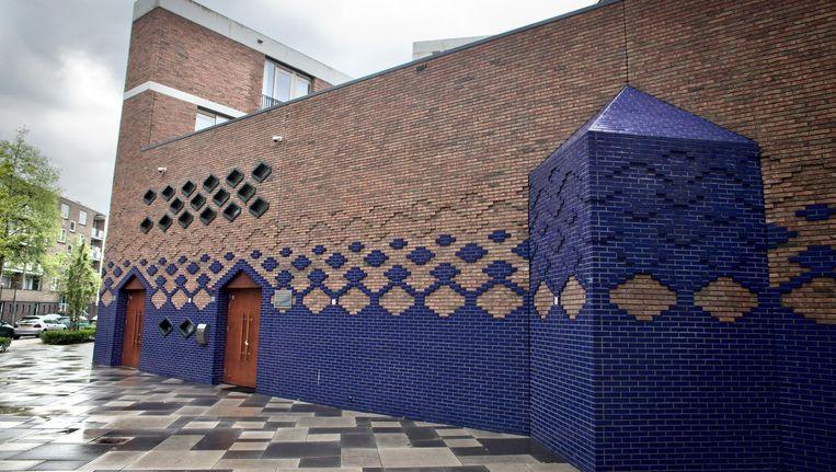 De Blauwe Moskee in Slotervaart. Beeld Rink Hof