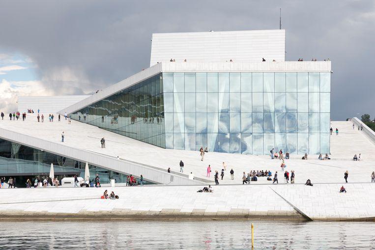 Het Operahuis in Oslo Beeld Getty Images