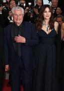 Monica Bellucci et Claude Lelouch