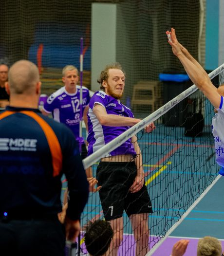 Volleyballers Vocasa pakken leiding in 'degradatiepoule'