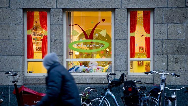 Het kinderdagverblijf het Hofnarretje aan de Van Woustraat in Amsterdam. Oud-werknemer Robert M. van het kinderdagverblijf wordt verdacht van kindermisbruik. Beeld null