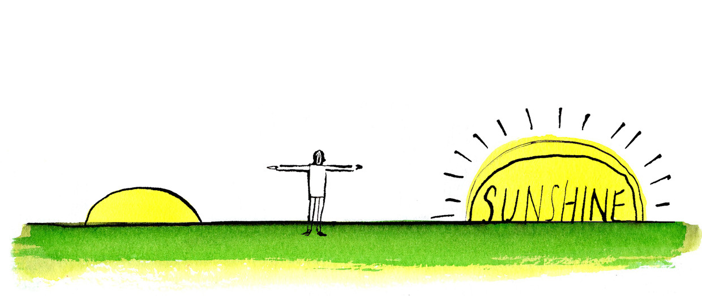 Volgens Robin Sharma is het van belang de zon te zien opkomen. Beeld Archiefbeeld Claudie de Cleen