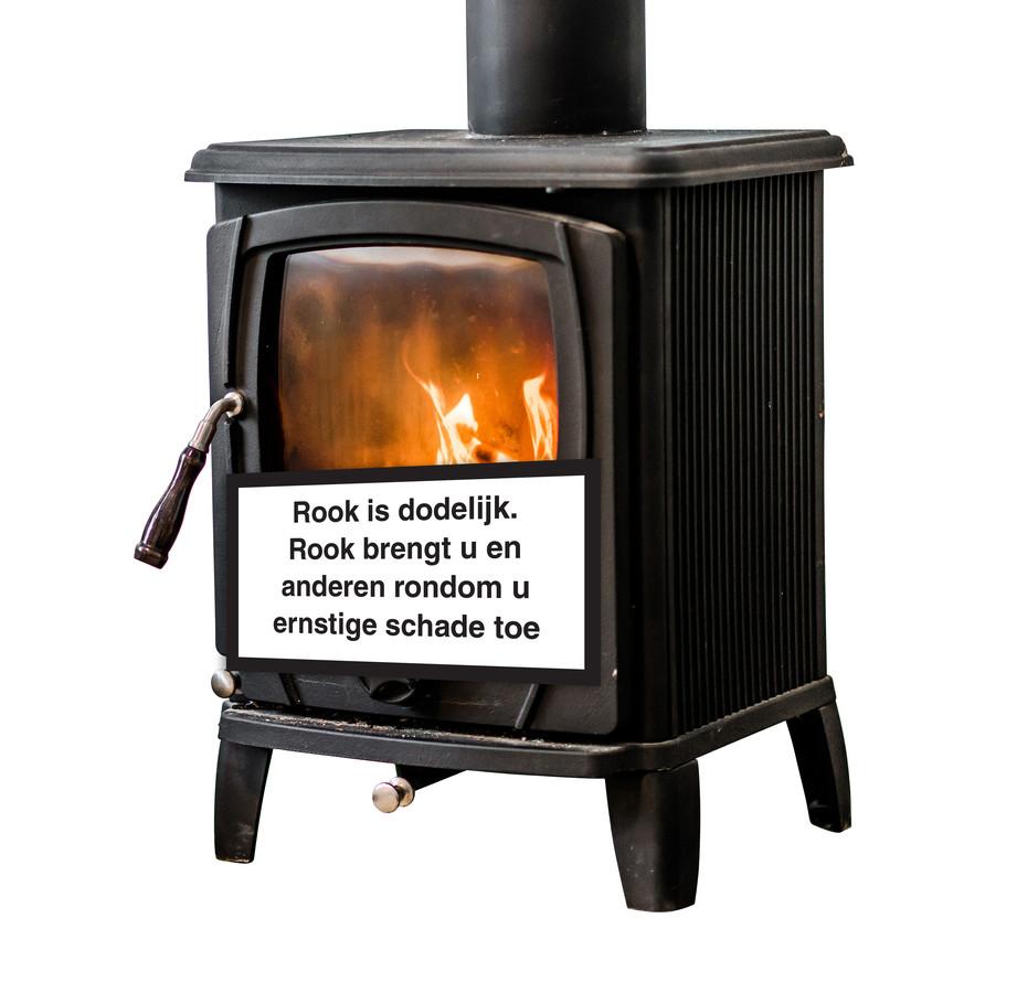 De rook uit houtkachels kan slecht voor de gezondheid zijn.
