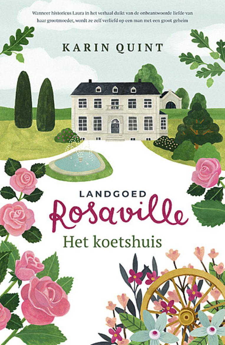 Landgoed Rosaville - het koetshuis Beeld Landgoed Rosaville - het koetshuis