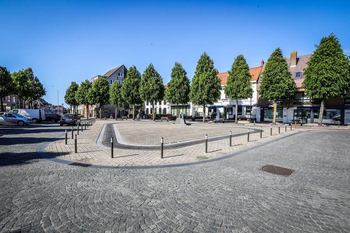 Het centrum van Oudenburg