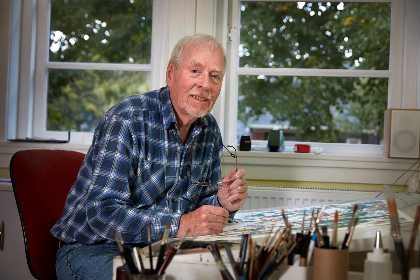 Nederlands bekendste striptekenaar en puzzelplatenmaker: Jan van Haasteren (85).