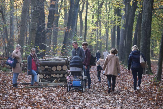 Vlaanderen trok vandaag massaal het bos in. Ook in Het Leen in Eeklo was het genieten.