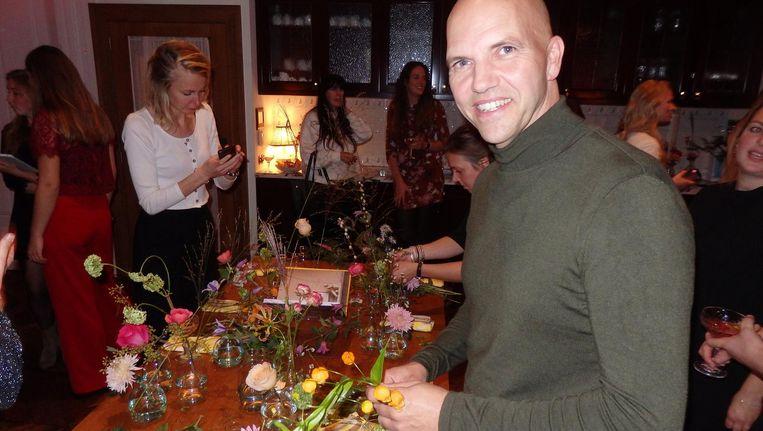 Anton van Duijn, styledirector van het boek.
