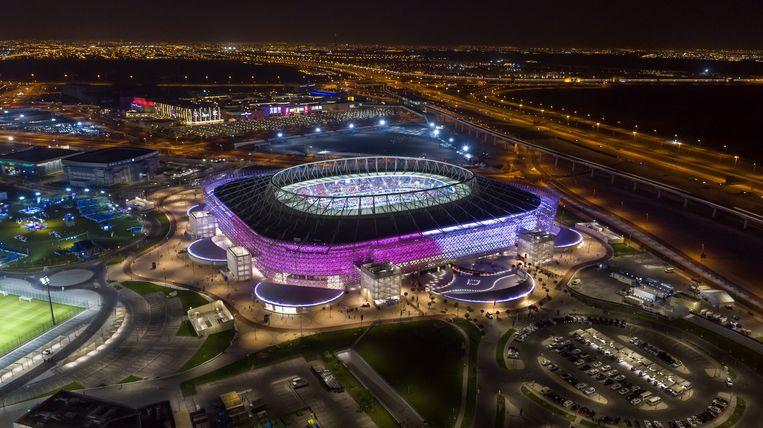 Het Ahmad Bin Ali stadion dat gebouwd is voor het  WK voetbal van 2022. Beeld Qatar 2022/Supreme Committee via
