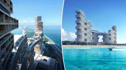 """Belgisch bedrijf bouwt adembenemend hotel met 100 zwembaden in Dubai dat """"luxe naar nieuwe hoogtepunt moet tillen"""""""