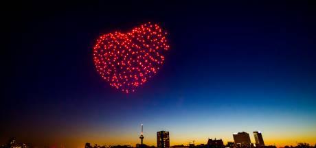 Rotterdam krijgt deze winter een lichtfestival, inclusief droneshow tijdens oud en nieuw