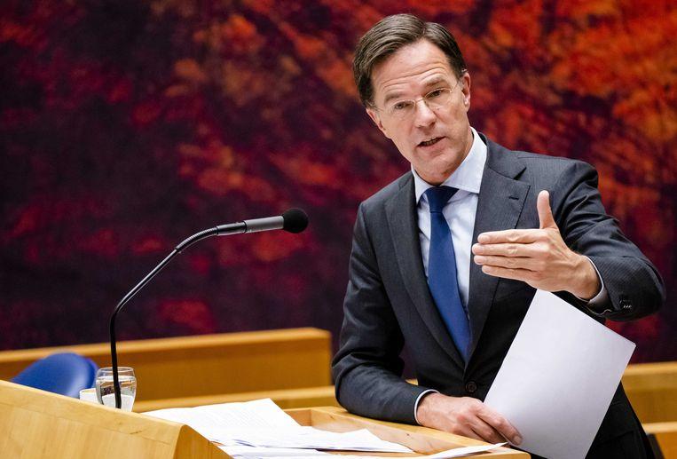 Premier Mark Rutte. Beeld ANP/Bart Maat
