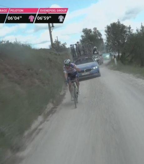 """Evenepoel craque, Bernal assure, Schmid remporte l'étape: """"J'avais les jambes vides"""""""