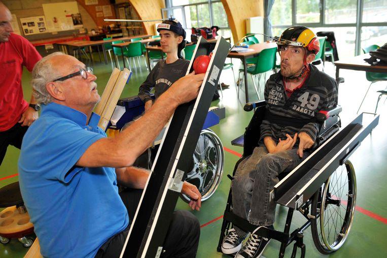 Nico Cilissen en zijn zoon Pieter komen volgende week samen in actie op de Paralympische Spelen in Rio.