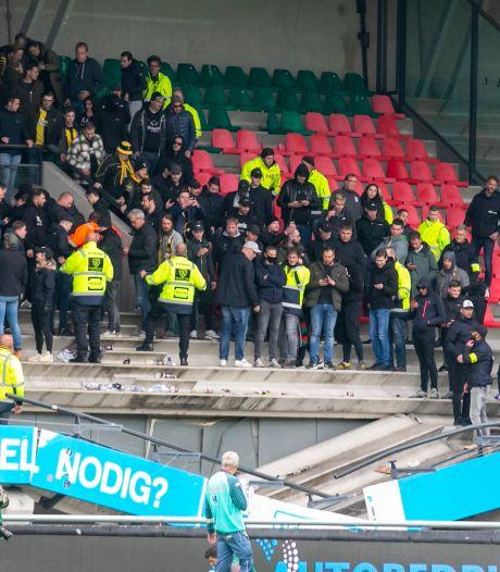 Stadion NEC blijft voorlopig dicht na inzakken tribune