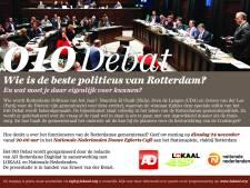 010 Debat: Wie is de beste politicus van Rotterdam?