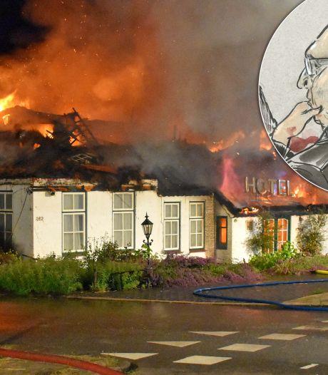 Belastende geluidsopname: 'Eigenaar Kerstper W. gaf zelf opdracht voor brandstichting hotel Blauwe Hand bij Wanneperveen'