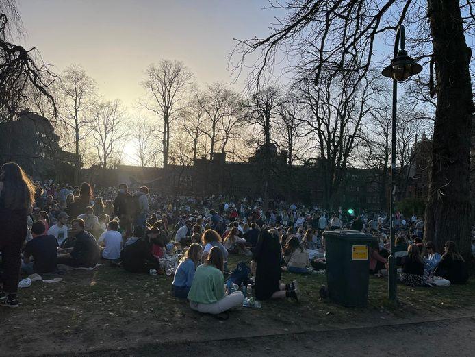Leuven stadspark woensdagnamiddag