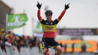 Dubbel feest voor Laurens Sweeck: zege in Middelkerke én eindwinnaar Superprestige