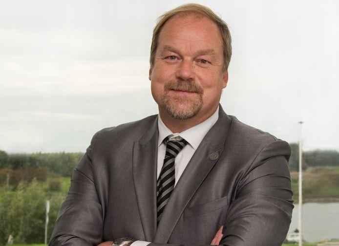 Hans Olthof, VVD-wethouder van de gemeente Olst-Wijhe.