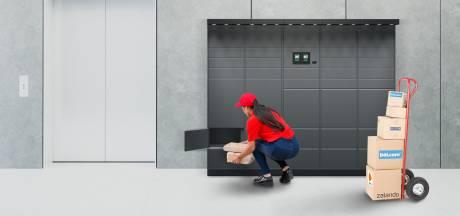 Je pakketje 24/7 ophalen in eigen flat of bedrijfsgebouw: de pakketautomaat van VDL maakt het mogelijk