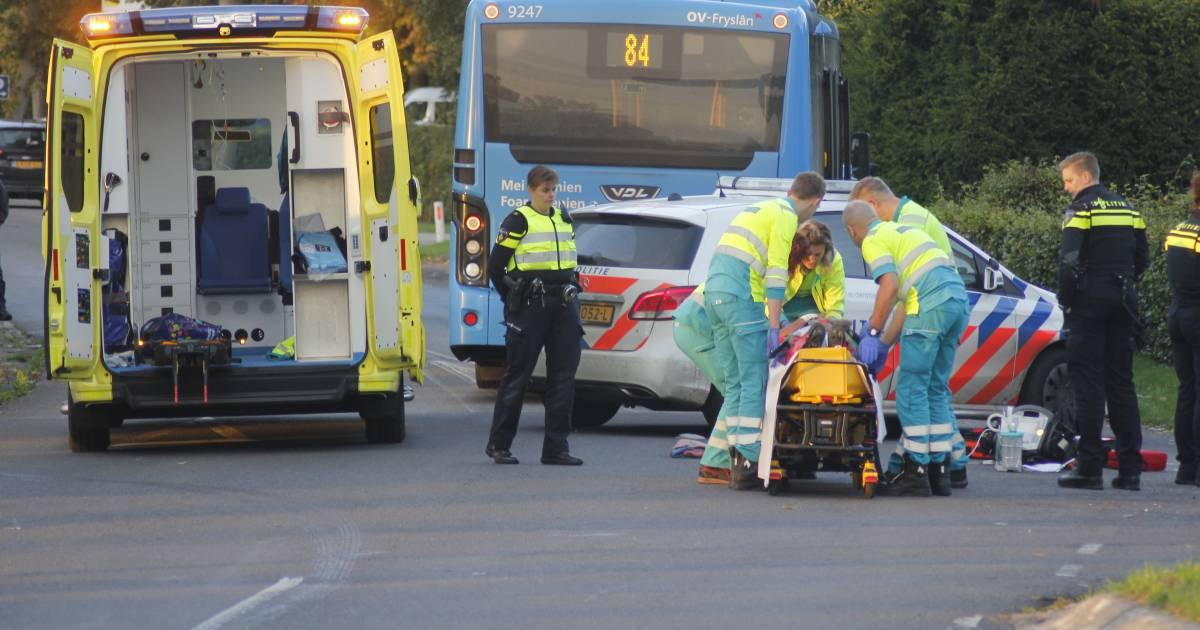 Oud-schaatser Yep Kramer gewond na fietsongeval.