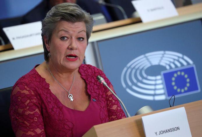 De Europese commissaris voor Binnenlandse Zaken, Ylva Johansson.
