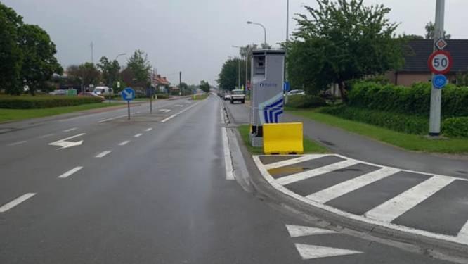 886 bestuurders reden afgelopen week te snel in de Biebuyckstraat in Deinze