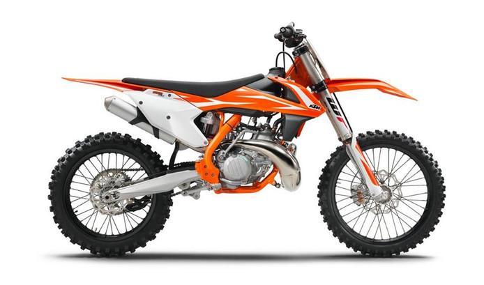 Een dergelijke KTM crossmotor is gestolen in Holten.