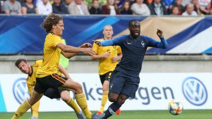 Belgische U21 met de voeten op de grond na kansloze nederlaag tegen Frankrijk