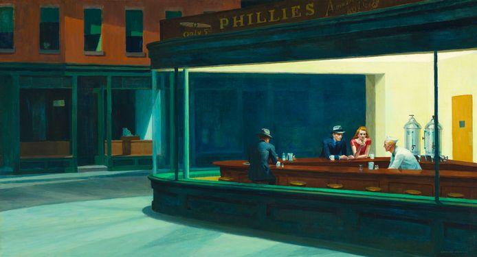 Nighthawks d'Edward Hoppers.