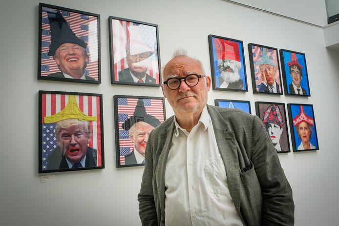 Cineast en kunstenaar Jan Bucquoy.