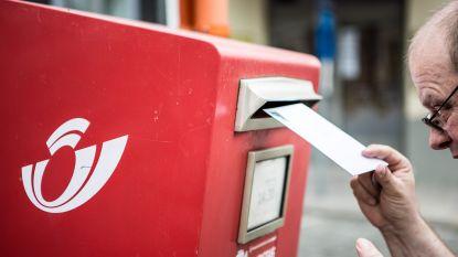 Bpost schrapt tot een derde van 13.000 rode brievenbussen