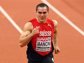 Zwitserse sprinter Pascal Mancini mag niet deelnemen aan EK atletiek na racistische uitlatingen