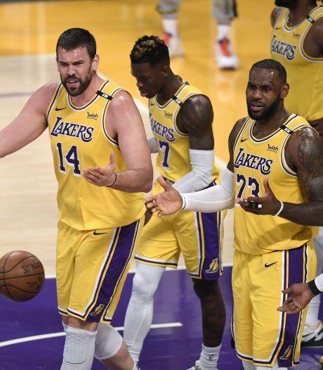 Séisme en NBA: les Lakers prennent la porte, Phoenix affrontera Denver
