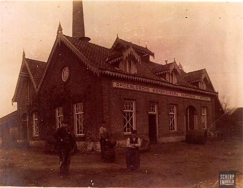 De oude brouwerij.