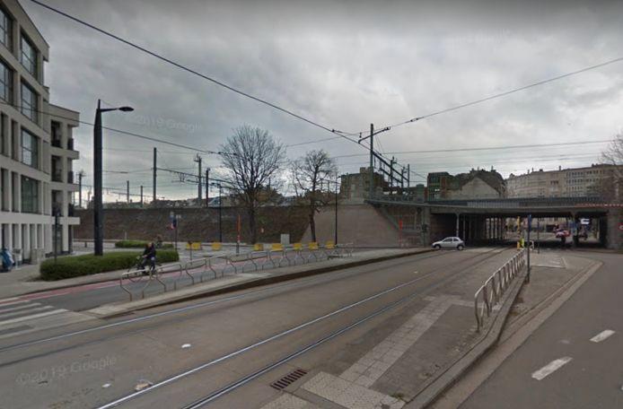 Dze tramhalte aan de Kortrijksesteenweg verdwijnt