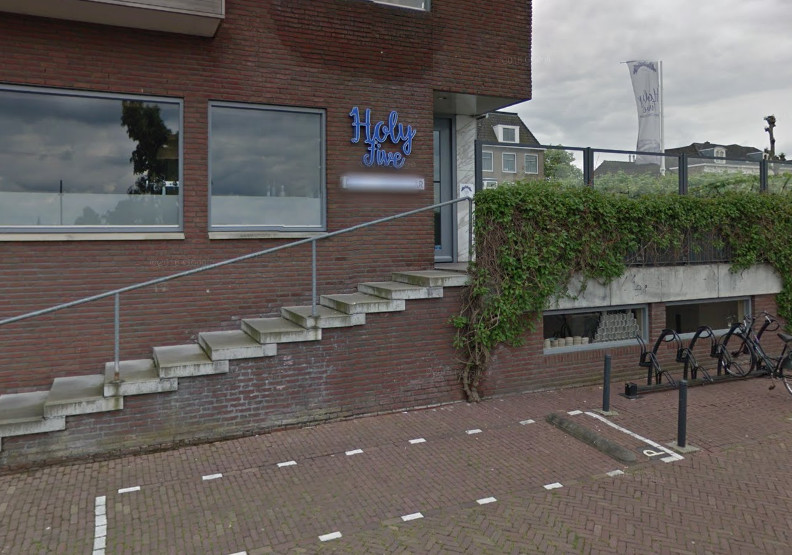 Restaurant Holy Five aan de Waalkade in Nijmegen.