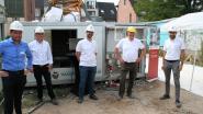 """""""Geen overlast en goedkoper dan dieselgeneratoren"""": voor het eerst mobiele batterij ingezet op bouwwerf"""