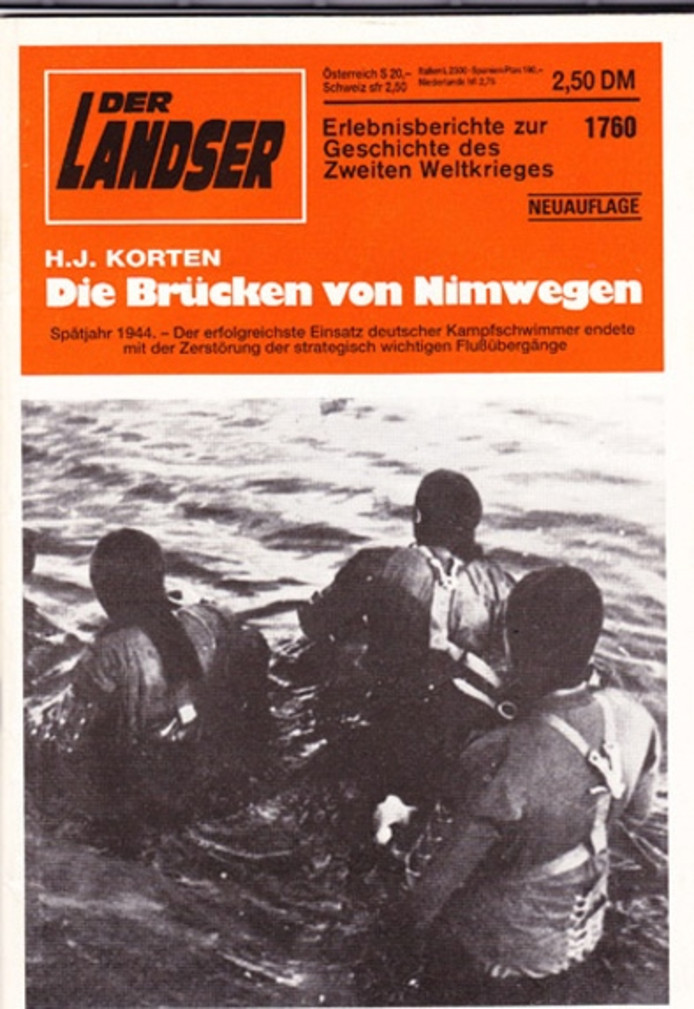 Aandacht voor de duikersactie in het Duitse magazine Der Landser.