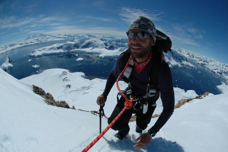 Dixie Dansercoer tijdens een expeditie in 2008.