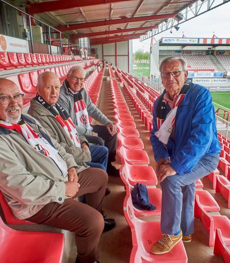 'Oude' kern Top Oss-supporters op tribune A3 gaat zondag vooral trots uitstralen