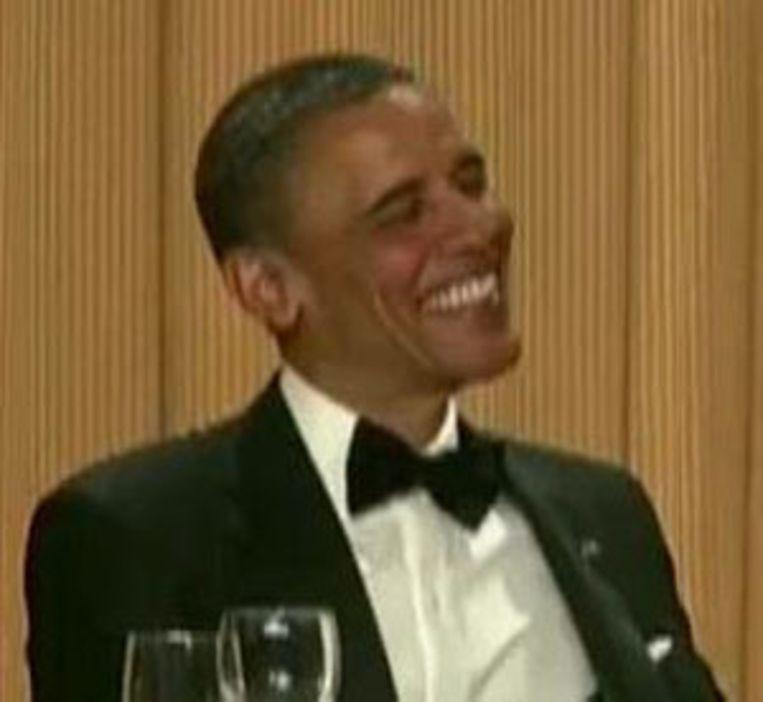 De pokerface van Obama Beeld UNKNOWN