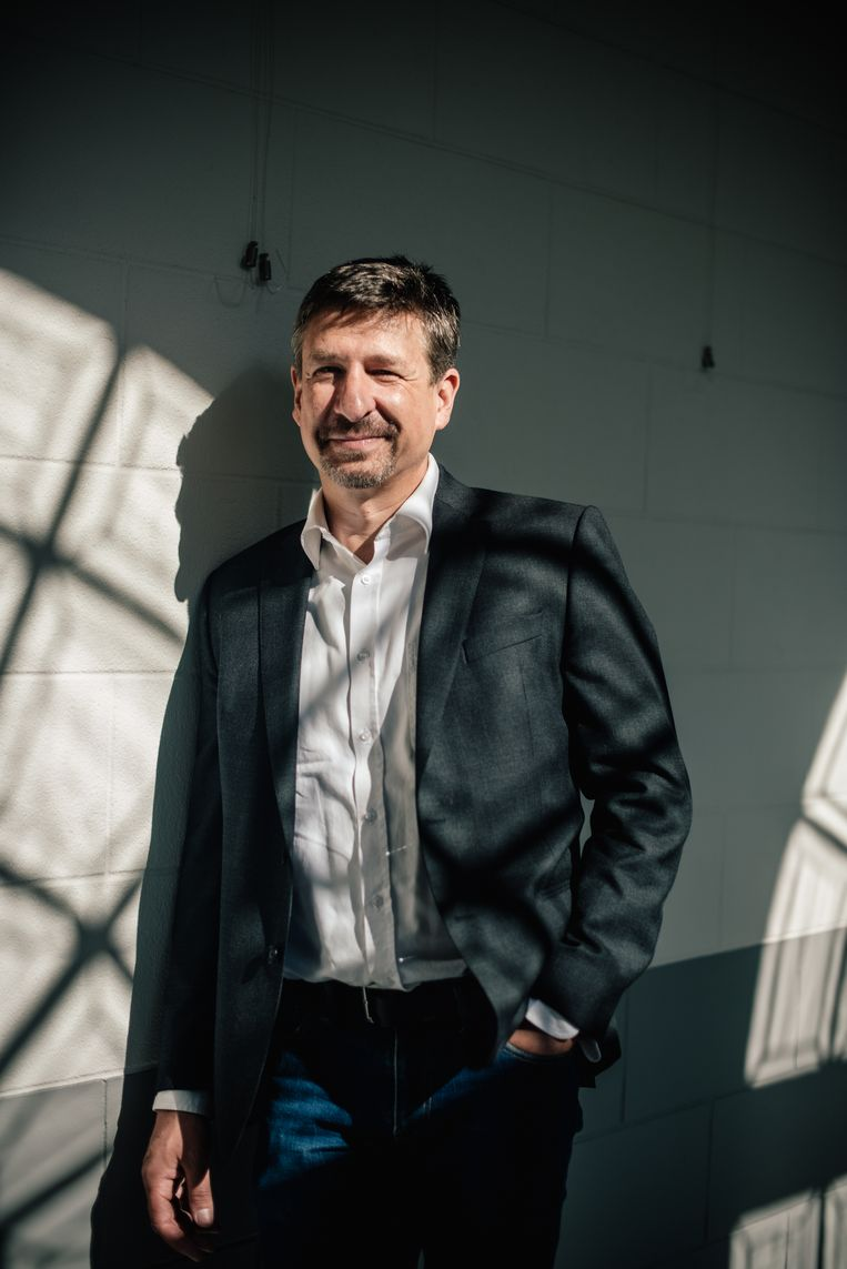 Marc-Alain Widdowson. Beeld Carmen De Vos Humo 2021