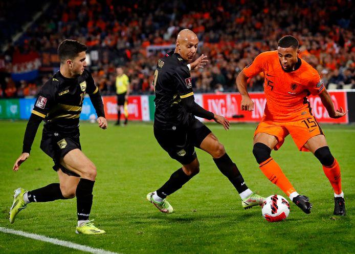 Arnaud Danjuma viel op met een goal en een aantal fraaie dribbels.