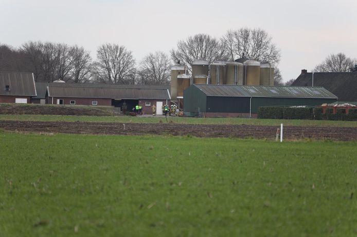 Ernstig ongeluk op boerderij bij Nistelrode