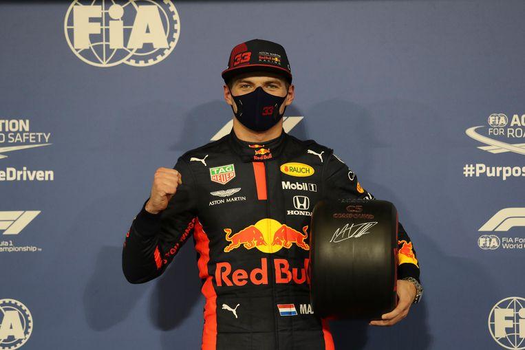 Max Verstappen in Abu Dhabi. Beeld AP