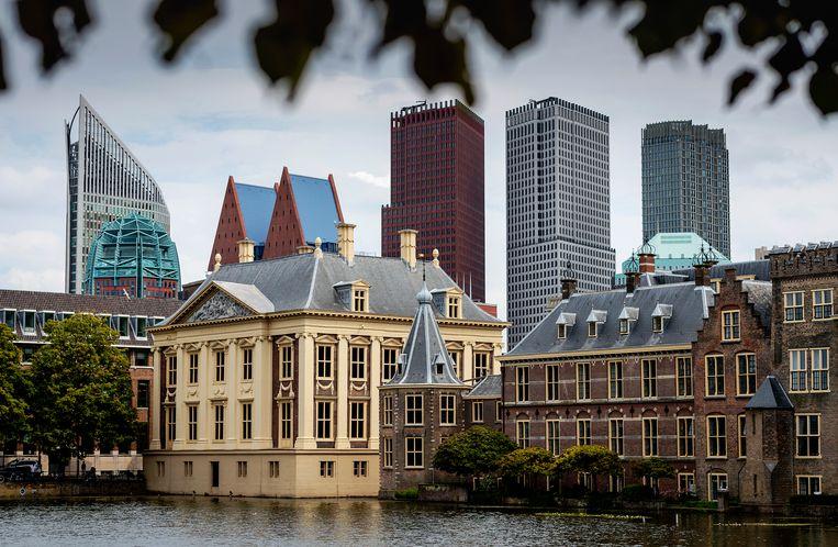 De Hofvijver bij het Binnenhof. Beeld Hollandse Hoogte /  ANP